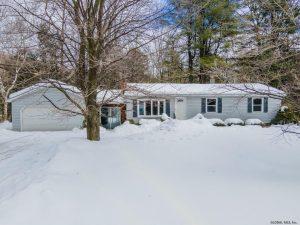 RICHMONDVILLE: CHARMING RANCH HOME ON 8 MOSTLY LEVEL ACRES photo