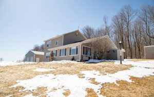 BURLINGTON FLATS: LOVELY HOME WITH TREE LINED DRIVEWAY OVERLOOKING 13.7 SCENIC ACRES photo
