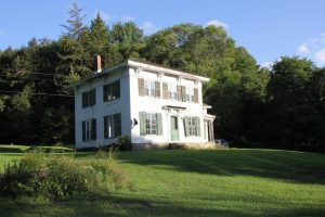 EDMESTON: c. 1990 COLONIAL WITH MANY UPDATES, POLE BARN ON 147+ ACRES, YEAR ROUND STREAM, WATERFALLS photo