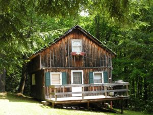 WESTFORD: COUNTRY HIDEAWAY, CABIN ON JUST UNDER 2 WOODED ACRES photo